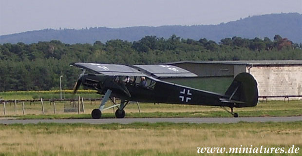 Fieseler Fi 156 »Fieseler Storch« aereo da collegamento e da ricognizione