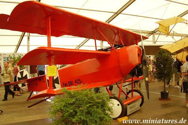 Fokker Dr.I triplano di Manfred »il Barone Rosso« von Richthofen