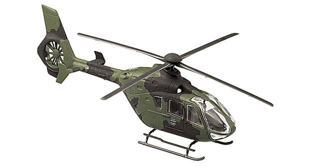 Bundeswehr Eurocopter EC 135, camouflaged, 1:87 Modellismo Roco 870