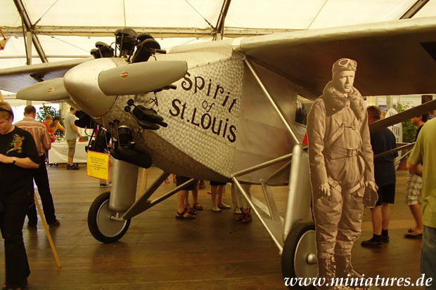 Ryan M-2 «Spirit of St. Louis» del Charles Lindbergh, who crossed the Atlantic on 20 Mayo 1927