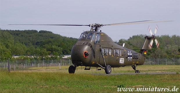 Sikorsky S-58 elicottero da trasporto H-34 G della Bundeswehr tedesca