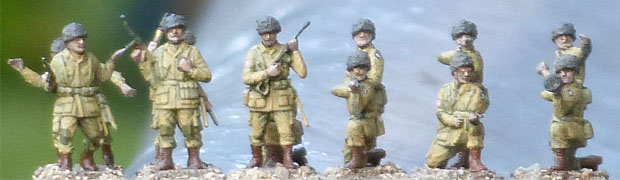 US Paratroops, 1942–1945, 1:76 Miniatures Airfix 01751