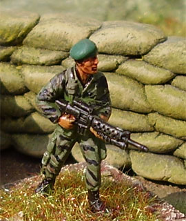 US Special Forces, 1:72 Figuras ESCI P-228