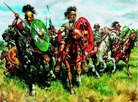 Roman Cavalry, 1:72 Soldatini Italeri 6028