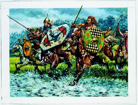 Celtic Cavalry, 1:72 Soldatini Italeri 6029