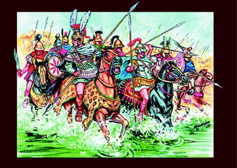 Macedonian Cavalry, 1:72 Soldatini Italeri 6035