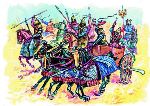 Persian Cavalry und Chariots, 1:72 Soldatini Italeri 6036