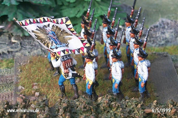 Battaglione Granatieri Austriaco Scharlach, 1:72 Soldatini Italeri 6005