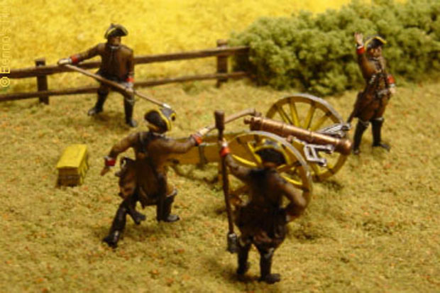 Austrian Artillery of the Seven Years' War, 1756–1763, 1:72 Miniatures Revell 02579