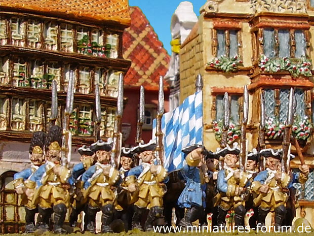 Bavarian Infantry Regiment von Morawitzky, 15 mm Figuras Old Glory