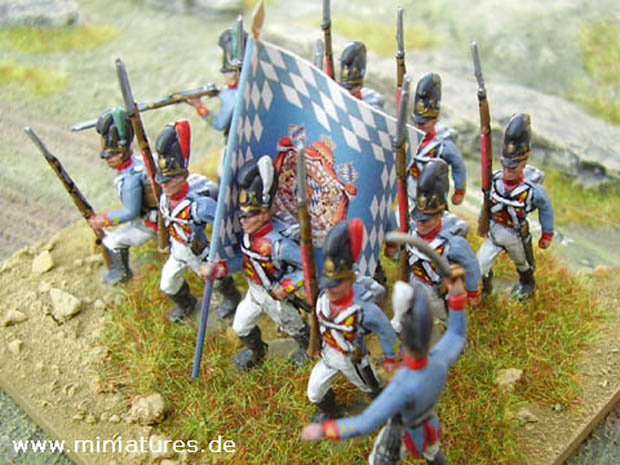 Soldatini Bavaresi Napoleonici