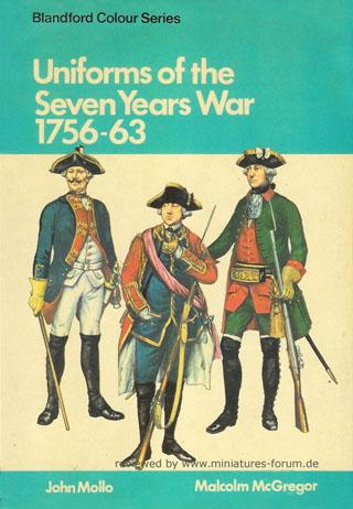 Uniformi della Guerra dei Sette Anni, 1756–1763, John Mollo, Malcolm McGregor