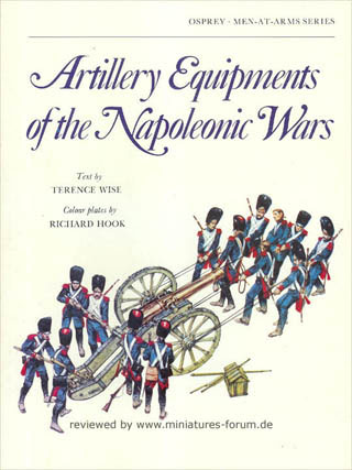 Artillery Equipment of the Napoleonic Wars, Osprey Men-At-Arms Series 96