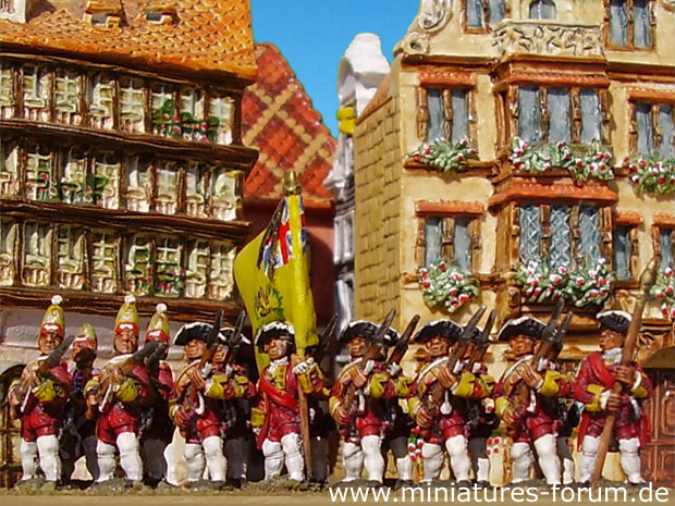 British 15th Regiment of Foot, 15 mm Figuras Essex