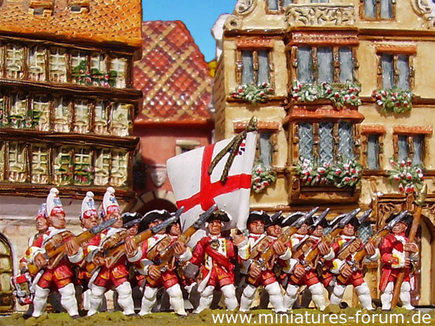 British 47th Regiment of Foot, 15 mm Figuras Essex