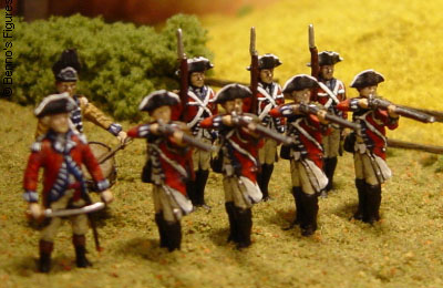 Revell British Infantry of the American Revolutionary War