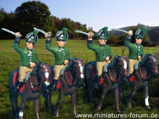 Cavalleria della Legione Britannica, dragoni leggeri di Tarleton, 1:76 Soldatini Airfix