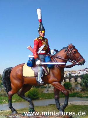 2nd Regiment, King's German Dragoons, 1812, 1:30 Soldatini del Prado