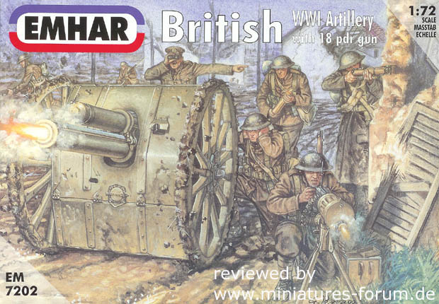 artillery and machine guns