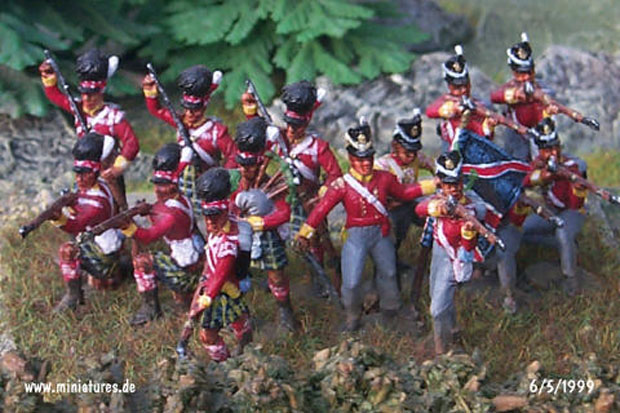 British 44th (East Essex) Regiment, 1:72 Figuras ESCI P-215
