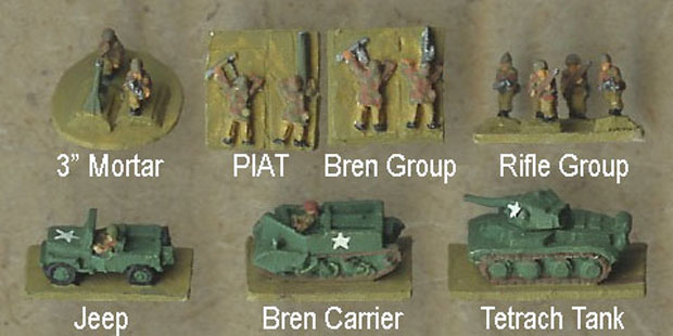 Heroics & Ros British Paratroops based for Combined Arms Rules by Ian Shaw