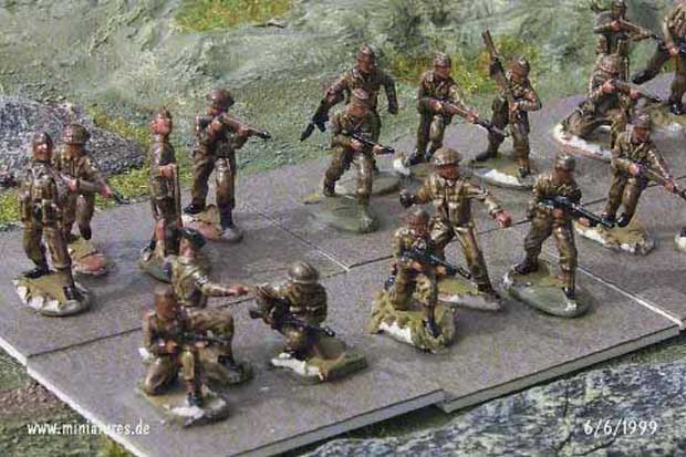 British Commandos 1940-1945, 1:76 Miniatures Matchbox 40906