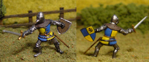 Accurate Miniatures 1:72 Scale French Knight