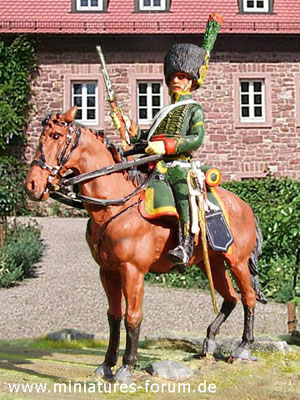 French Napoleonic Imperial Guard Chasseurs à Cheval, 1799–1815
