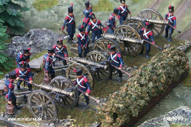 French Artillery with 12-pdr and Austrian 6-pdr Guns</a>, 1:72 Figuras ESCI P-234, 1:72 Figuras ESCI P-234