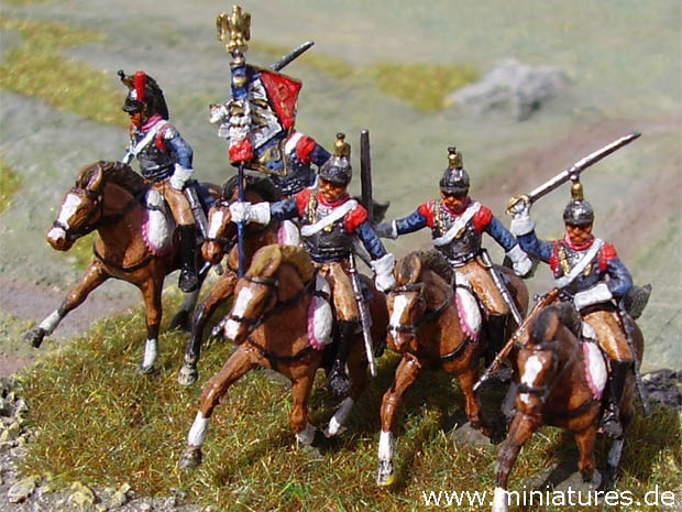 French 11th Cuirassier Regiment, 1:72 Figuras ESCI P-235