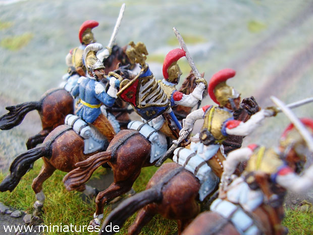French 1st Carabinier Regiment, 1:72 Figuras Italeri 6003
