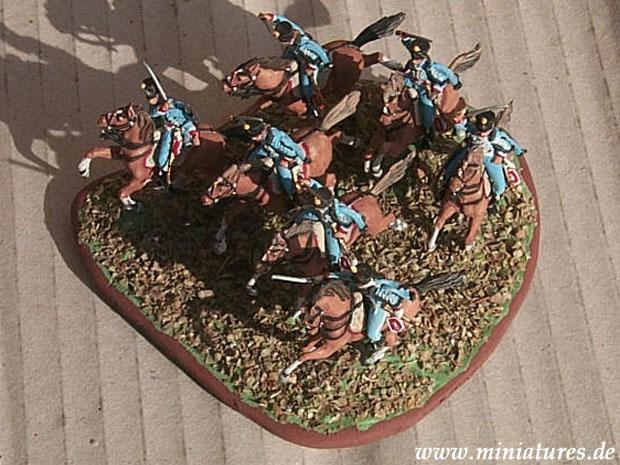Ussari Francesi delle Guerre Napoleoniche, 1804–1813, 1:72 Soldatini Italeri 6008