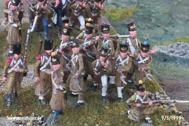 French Napoleonic Line Infantry in Greatcoats, 1809–1815, 1:72 Miniatures Conversion Revell 02570
