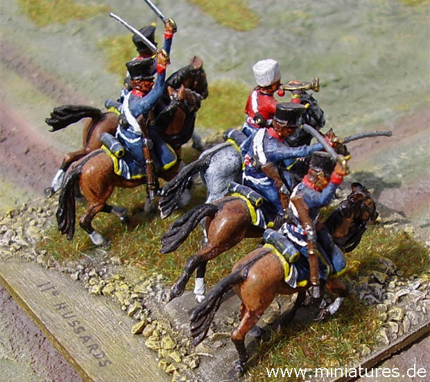 French 11th Hussar Regiment, 1:72 Figuras Revell 02576