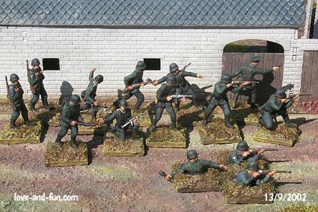 Infantería Alemana, 1939–1944, 1:76 Figuras Airfix 01705