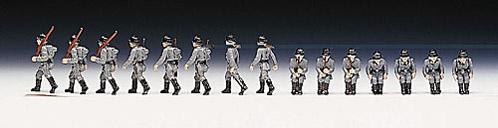 Deutsche Infanterie, hand-painted, 1:87 Soldatini Roco 872