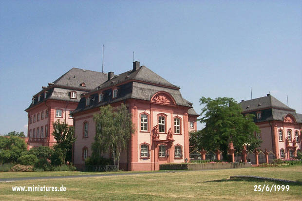 Napoleon's residence at Mainz