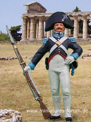 Carabiniere a Piedi, 1815, 1:30 Soldatino del Prado