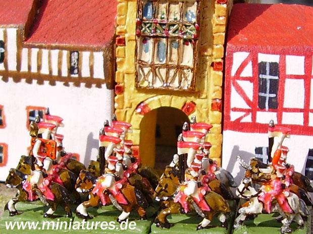 Lancieri della Guardia Reale Napoletana, Guerre Napoleoniche, 1:300 Soldatini Heroics & Ros MFN02