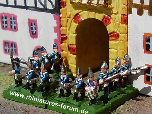 Prussian Garrison Regiment von Sydow (Nr. II), Grenadiers, 5 mm Figuras Heroics&Ros