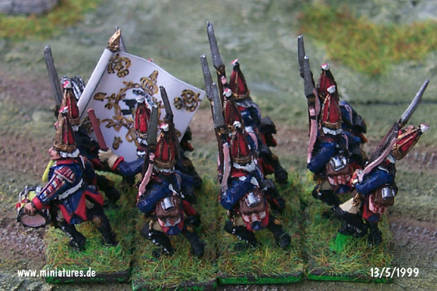 Prussian Grenadier-Garde von Retzow (Nr. 6), 15 mm Figuras Old Glory