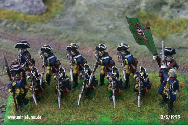 Infantry Regiment von Pannwitz (Nr. 10), 15 mm Figuras Old Glory