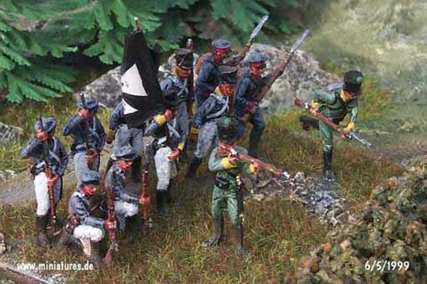 Prussian 18th Infantry Regiment, 1:72 Figuras ESCI P-236