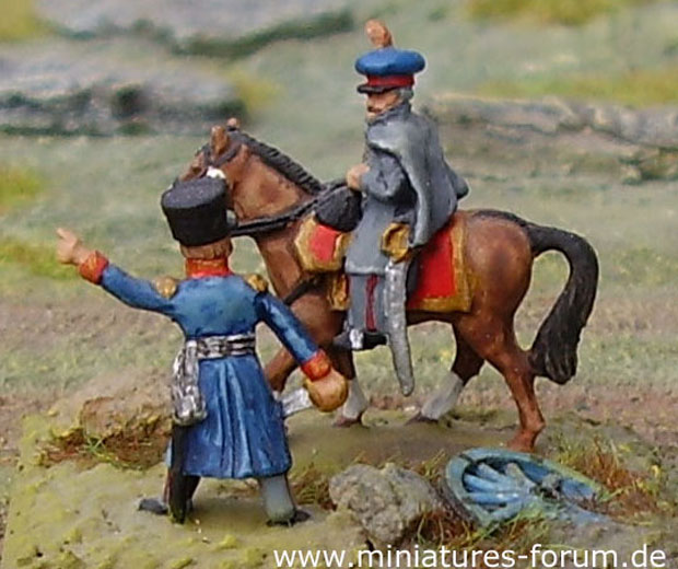 Minifigs Blucher and Prussian Generals