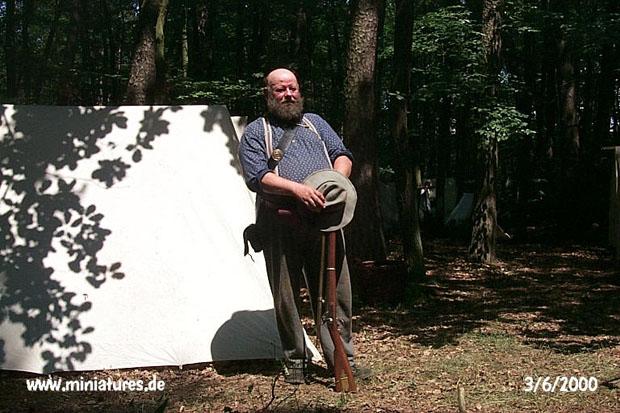 Sharpshooter of the 2nd South Carolina Rifles