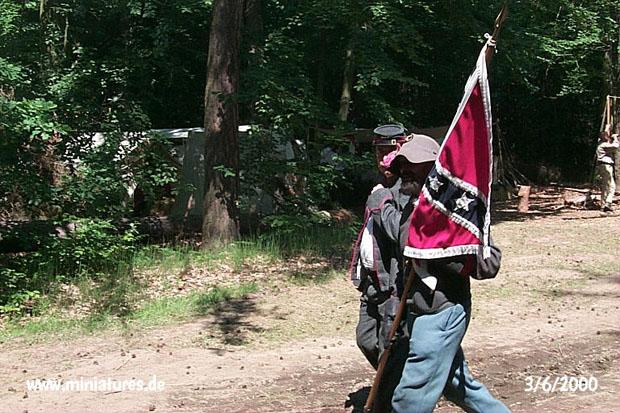 Artiglieria Confederata Battle Flag