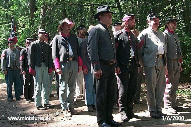Confederate Artillery »left face!«