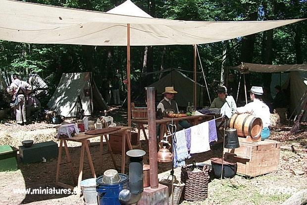 Cucina da campo Confederata