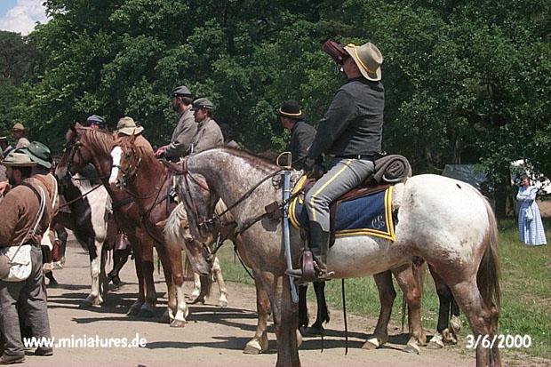 Cavalleria confederata resting