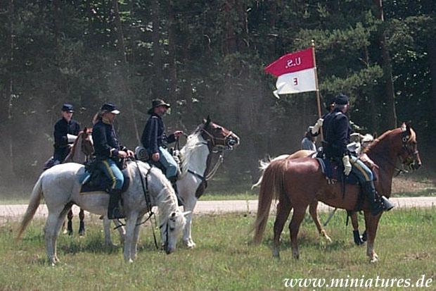 2. US Cavalleria, E Company guidon